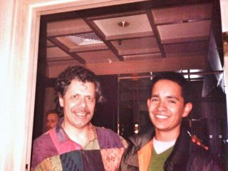 with Chick Corea, New York, 1998