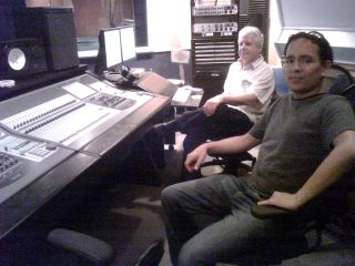 with Robert Musso at IAR Recording Studios, New York 2010