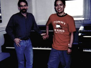 with Fred Hersch, Boston 2003