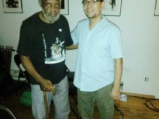 With Henry Grimes at the Jazz Gallery, 2014