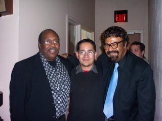 with Nathan Davis & David Baker at Ravinia, 2004