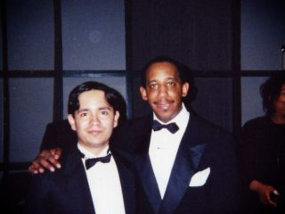 with Anthony Branker, New  York, 1999