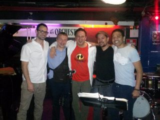with Peter Brainin Latin Jazz Workshop at FatCat, NY