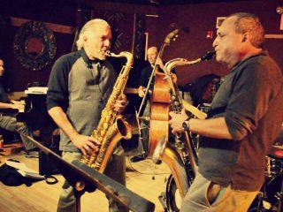 with Jerry Bergonzi & George Garzone, Boston, 2014