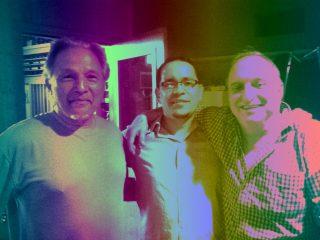 with Bergonzi & Garzone at the studio