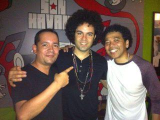 with Carlitos del Puerto & Luisito Quintero