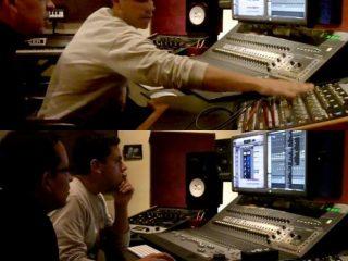 Mastering with Paul Cox at Metaphonic Studios, New York