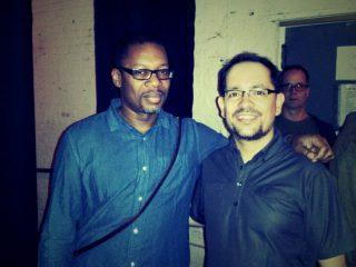 with Ravi Coltrane